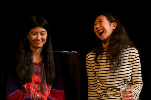 Jennifer Lim & Elizabeth Chan at Into the Numbers post-show Q&A. © Peter Jones