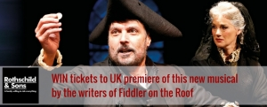 Get all social media for Rothschild & Sons + its cast on www.stagefaves.com - and win tickets!