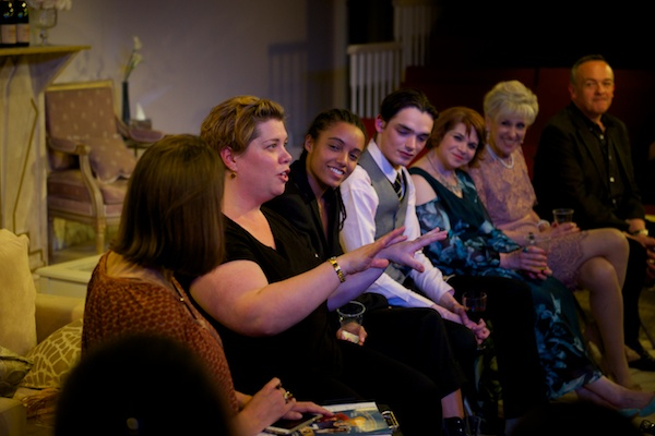 Katy Brand & cast at my 3woman post-show talk