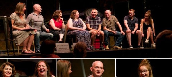 The Rise & Fall of Little Voice post-show Q&A at the Barn Theatre. © Peter Jones
