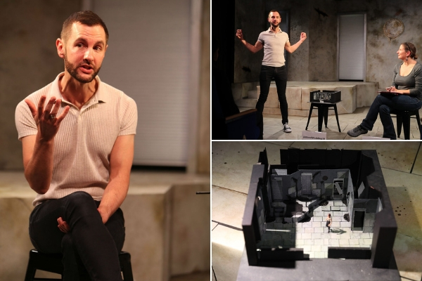 My in-depth, impromptu interview with Blood Wedding adapter/director George Richmond-Scott at the Omnibus Theatre on 12 September 2018. © Anthony Kelly
