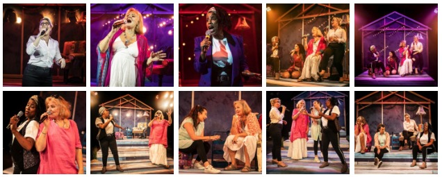 See all Unexpected Joy production & rehearsal shots on www.stagefaves.com. © Pamela Raith