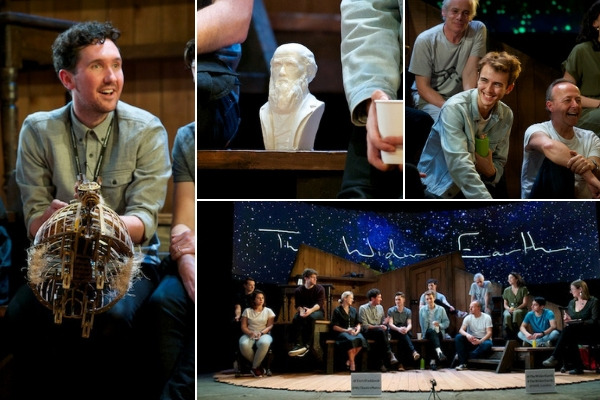 My post-show Q&A with the creators & cast of The Wider Earth at the Natural History Museum on 9 October 2018. © Peter Jones