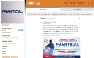 Get all social media for FANATICAL & its cast at www.stagefaves.com