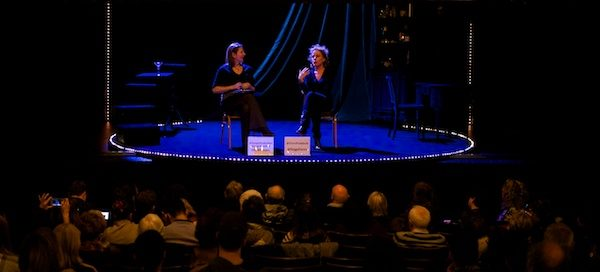 My Songs for Nobodies post-show Q&A with Bernadette Robinson at the West End's Ambassadors Theatre. © Peter Jones
