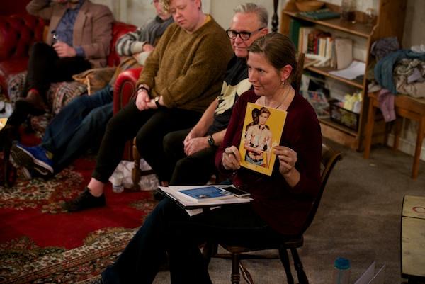 My Coming Clean post-show Q&A with Adam Spreadbury-Maher, Martin Sherman, Carrie Lyell & David Parker at Trafalgar Studios. © Peter Jones