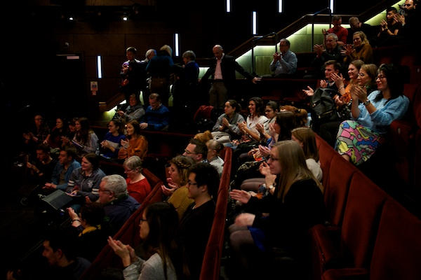 The audience had lots of questions for The Showstoppers at my post-show Q&A at The Other Palace. © Peter Jones