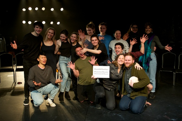 My Lazarus post-show Q&A with Lord of the Flies cast & creatives at Greenwich Theatre. © Peter Jones