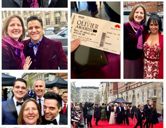Who did you spot? 2019 #OlivierAwards selfies