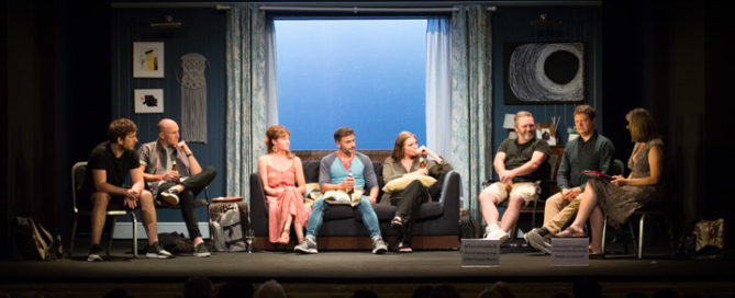 The Girl on the Train post-show Q&A at London's Duke of York's Theatre. © Peter Jones