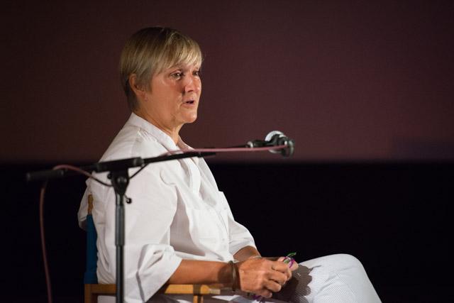 In Conversation With... Deborah Warner at the 2019 High Tide. © Peter Jones