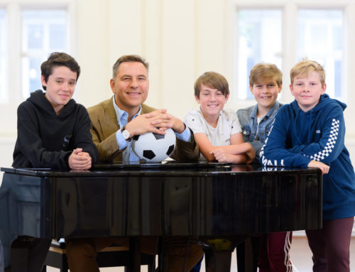 David Walliams on getting the RSC's 'stamp of approval' with The Boy in the Dress musical