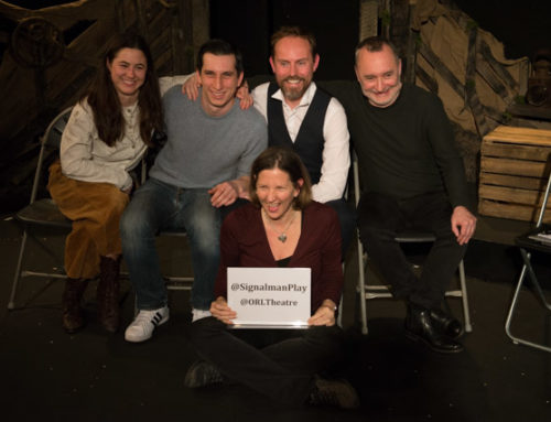 The Signalman post-show video and photos: How did a train crash change Charles Dickens' writing?