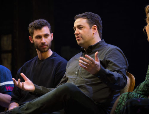 Post-show video and photos: Jason Manford on why Kander & Ebb's Curtains is made for the West End