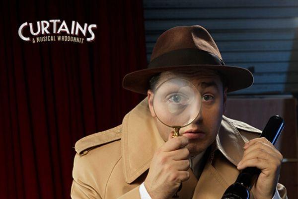 Jason Manford stars in Curtains