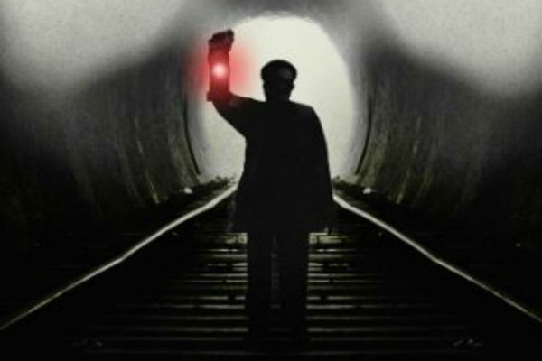 The Signalman runs at London's Old Red Lion Theatre from 10 December 2019-4 January 2020