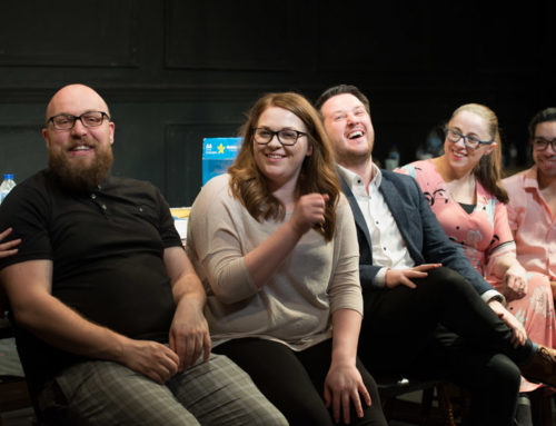 The Jury post-show video and photos: How do social biases affect our judgments?