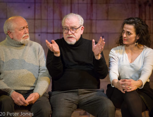 Sinners post-show video and photos: Why did Brian Cox want to direct a play about stoning women?