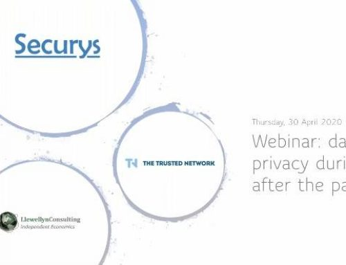 Webinar video: Are you aware of the privacy risks during and after coronavirus?