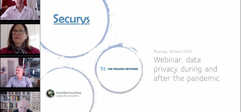 My data privacy webinar for Trusted Network