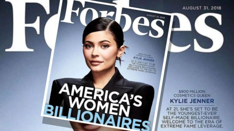 Kylie Jenner made the Forbes Billionaires list in 2017