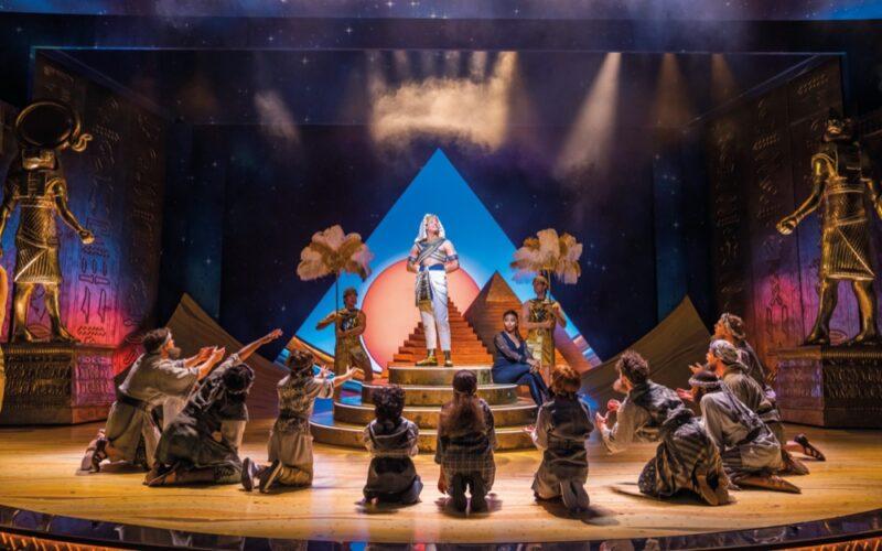 Joseph and The Amazing Technicolor Dreamcoat at the London Palladium. ©Tristram Kenton