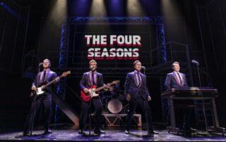 The Four Seasons in Jersey Boys. © Mark Senior