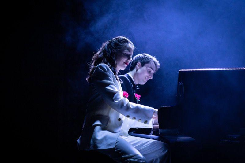 Molly Lynch & Oli Higginson in The Last Five Years. © Helen Maybanks