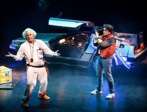 Back to the Future: Nostalgic screen-to-stage sci-fi custom-made for superfans